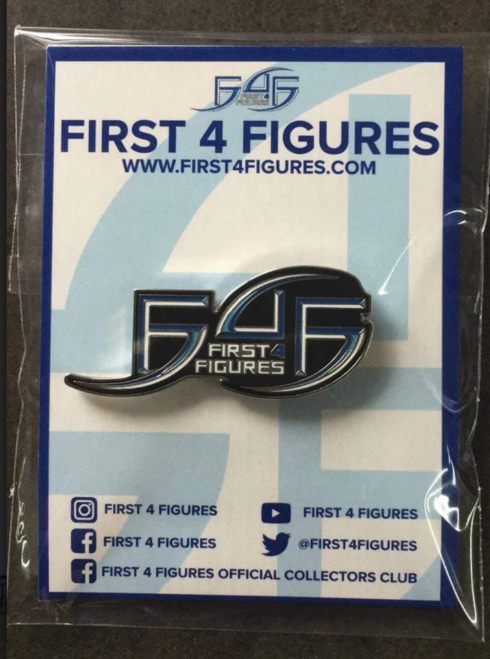 Gamescom 2018 F4F pin sample