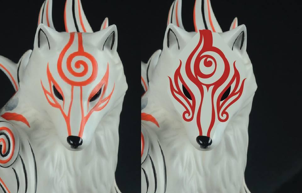 Shiranui face markings update