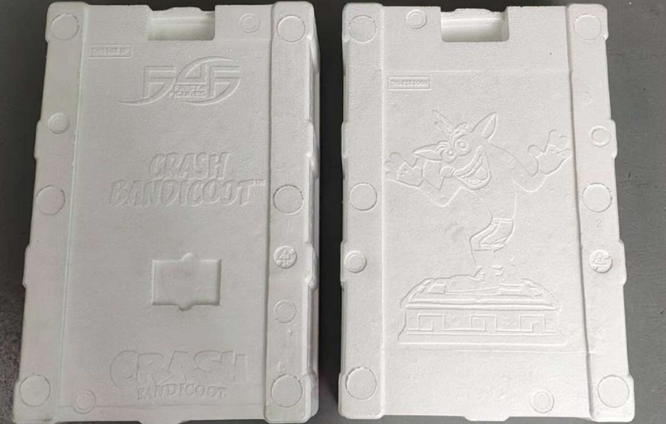 Crash (Resin) styrofoam packaging