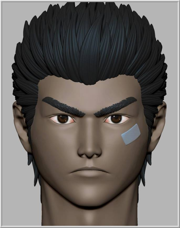 NEW Ryo Hazuki face sculpt