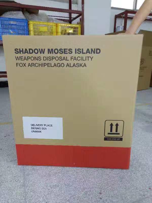 Solid Snake inner shipping box design
