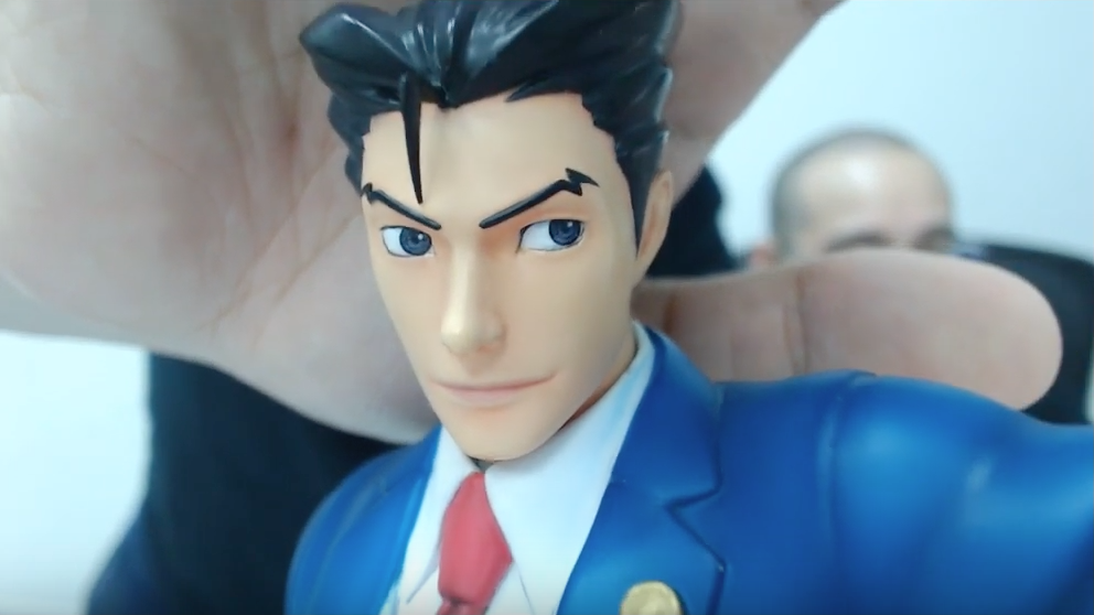 Phoenix Wright expression