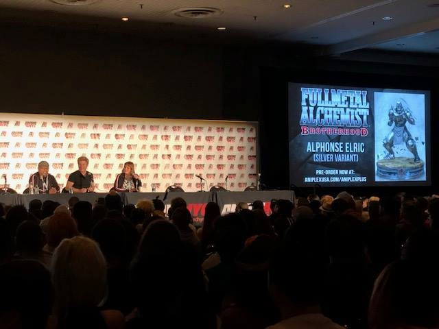 Fullmetal Alchemist special panel in Anime NYC