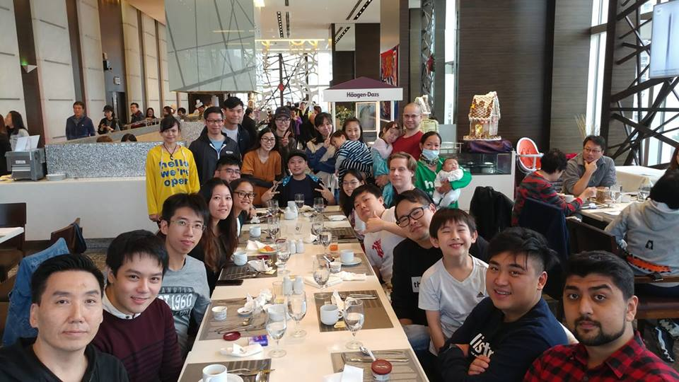 F4F 2018 Christmas Lunch