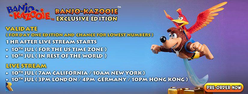 Banjo-Kazooie Pre-Order Now Live