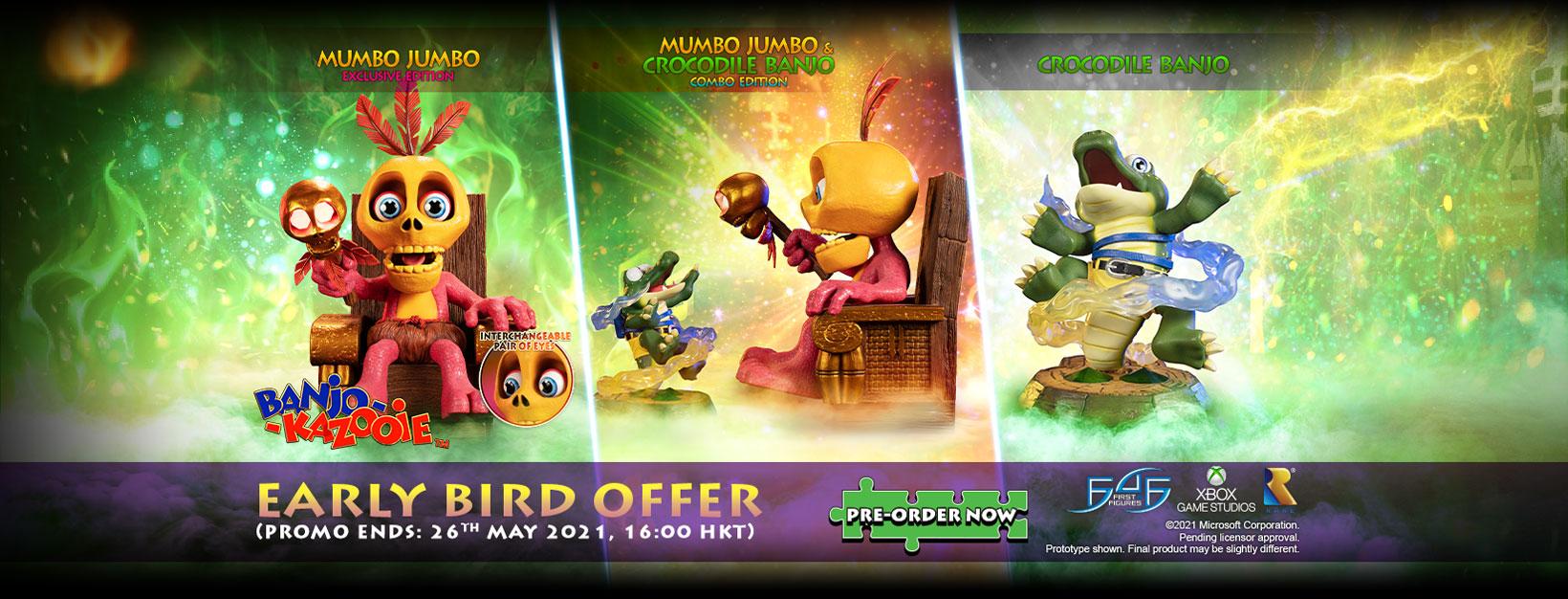 Banjo-Kazooie™ – Mumbo Jumbo statue Early Bird Offer