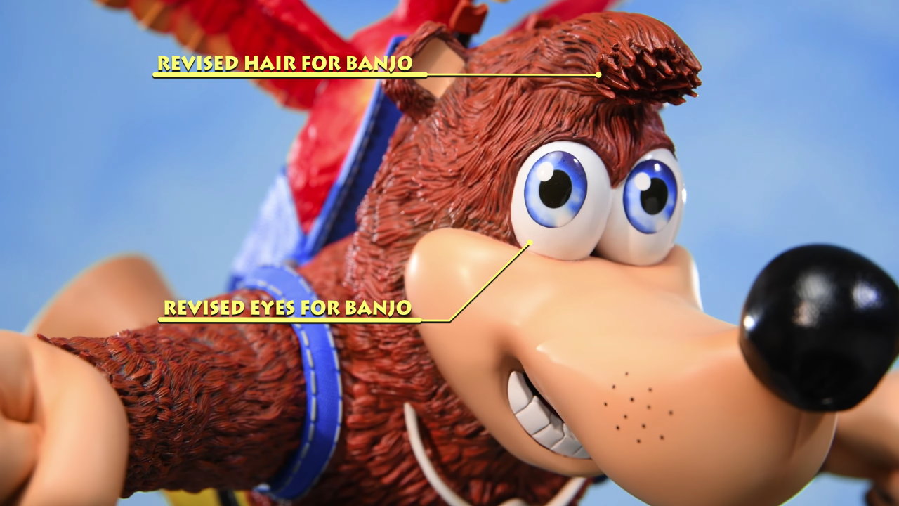 Banjo-Kazooie™ Changes: Head Sculpt