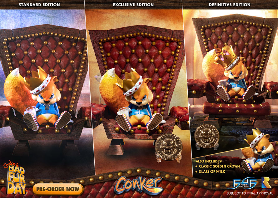 Conker pre-orders NOW OPEN!