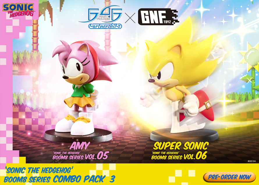 Sonic the Hedgehog Boom8 Series Combo Pack 3 pre-orders NOW OPEN!