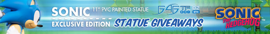 Sonic (Exclusive Edition) Statue Giveaway