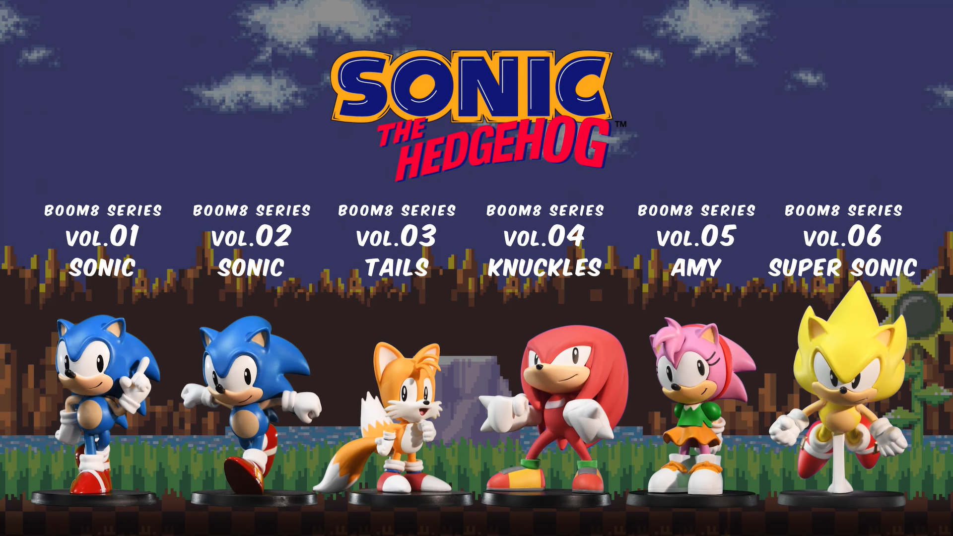 First 4 Figures Sonic The Hedgehog Boom8 Series lineup