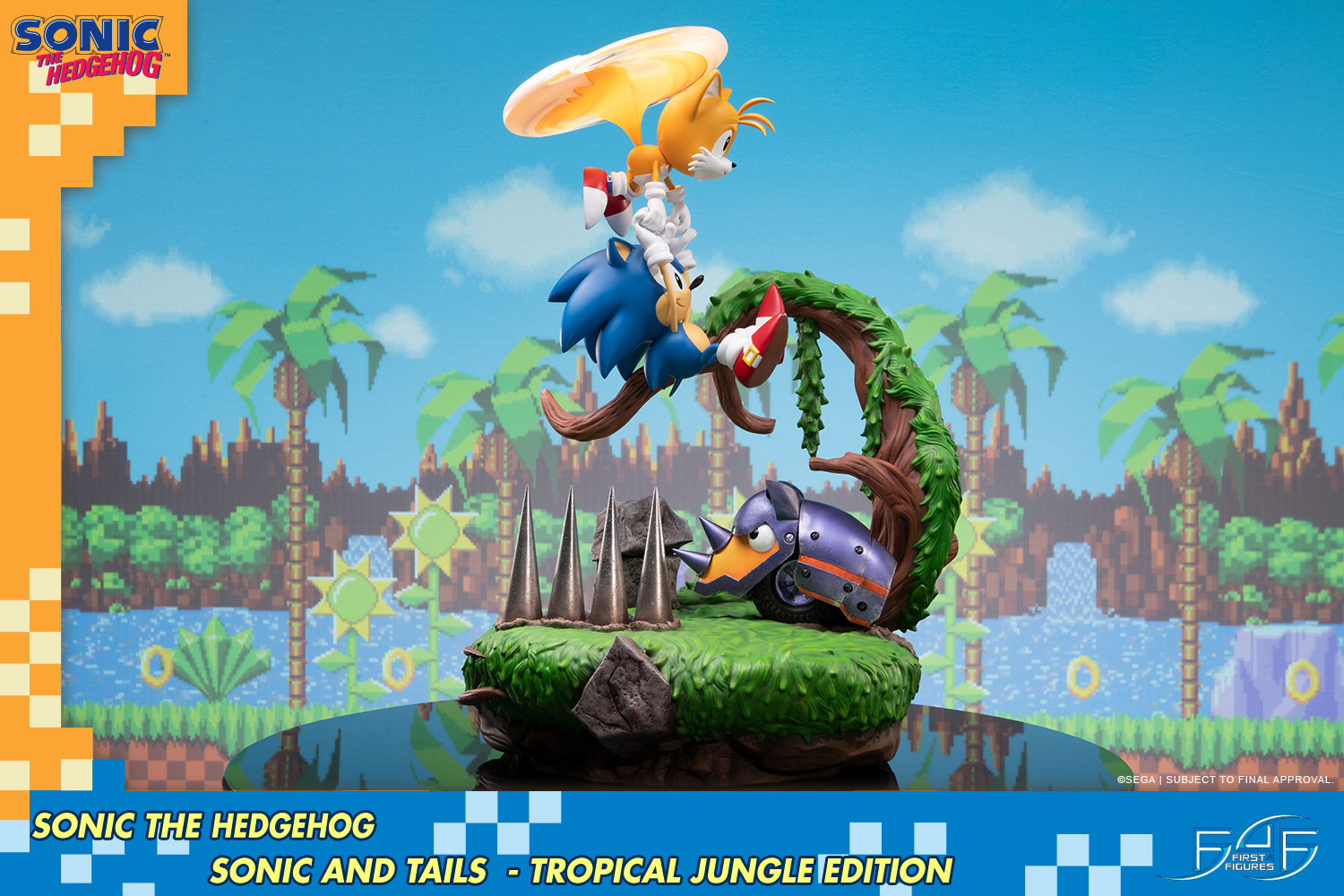 Sonic and Tails (Tropical Jungle Edition)
