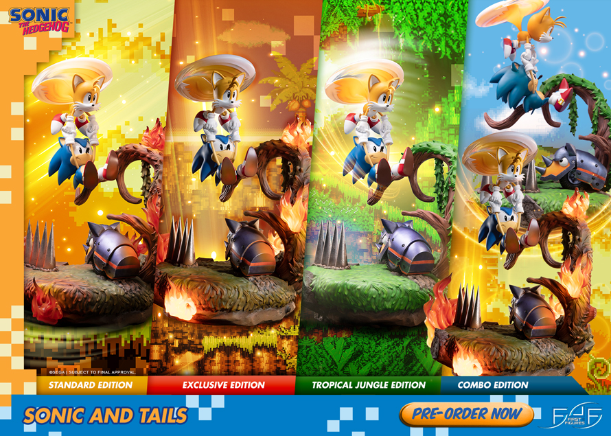 Sonic and Tails still available for pre-order!
