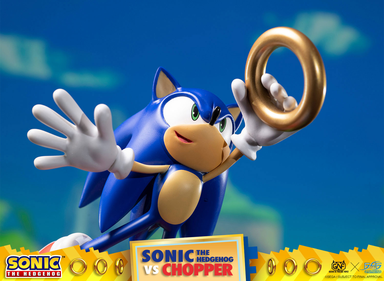 Sonic the Hedgehog vs. Chopper Diorama
