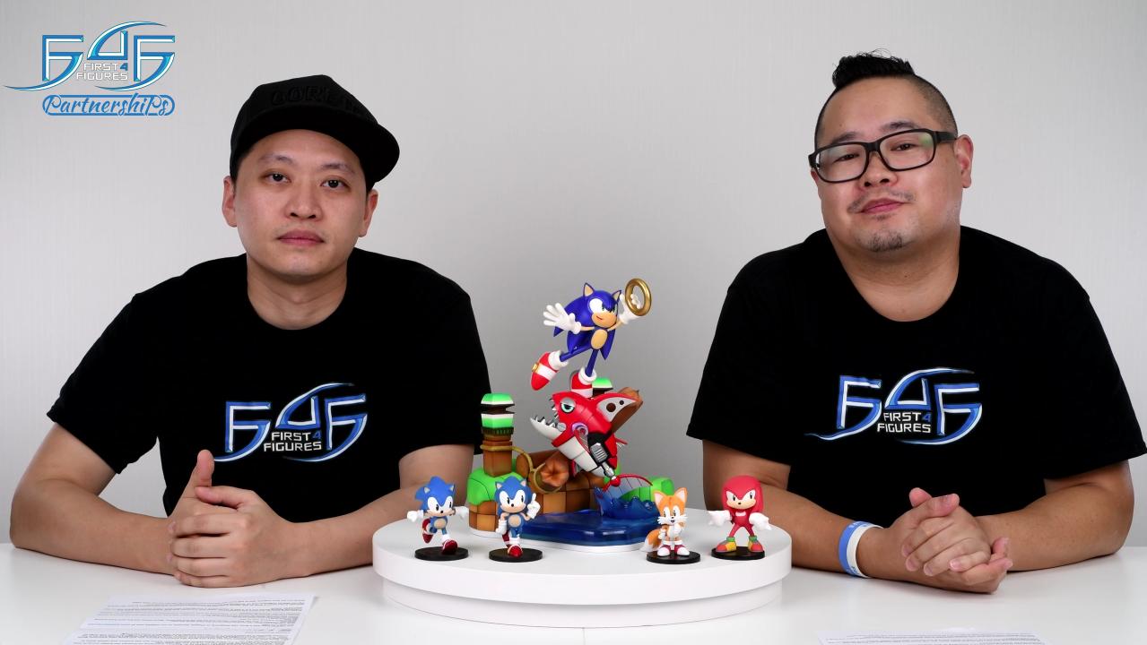 F4F x GNF Toyz Sonic the Hedgehog series