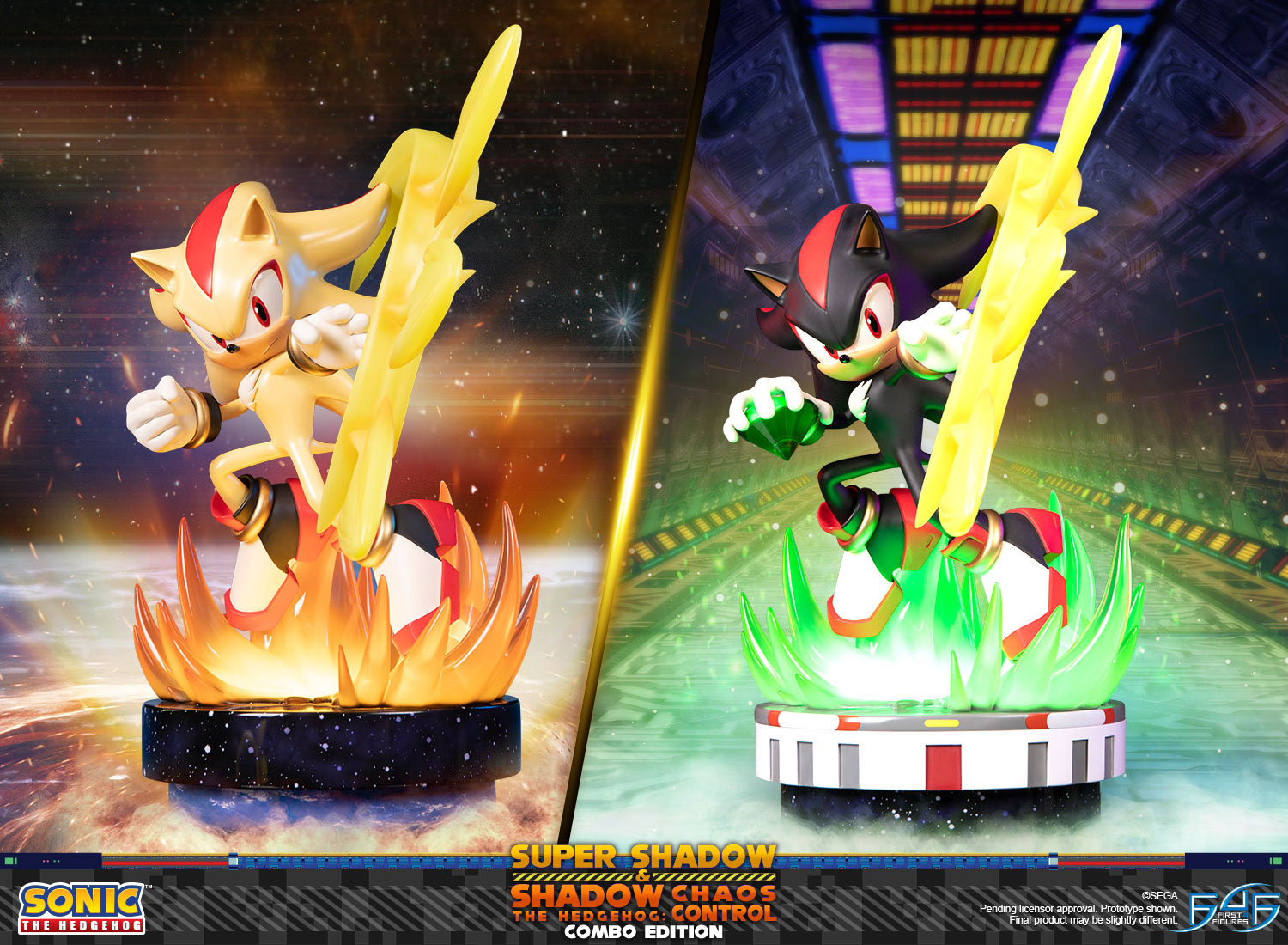Super Shadow and Shadow the Hedgehog: Chaos Control (Combo Edition)
