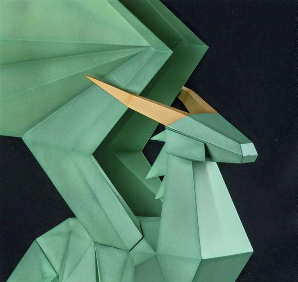 Crystal Dragon 3rd repaint