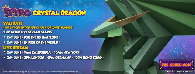 Crystal Dragon Pre-Order Now Live