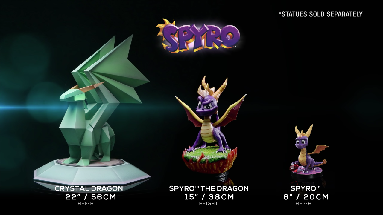 First 4 Figures Spyro™ the Dragon series
