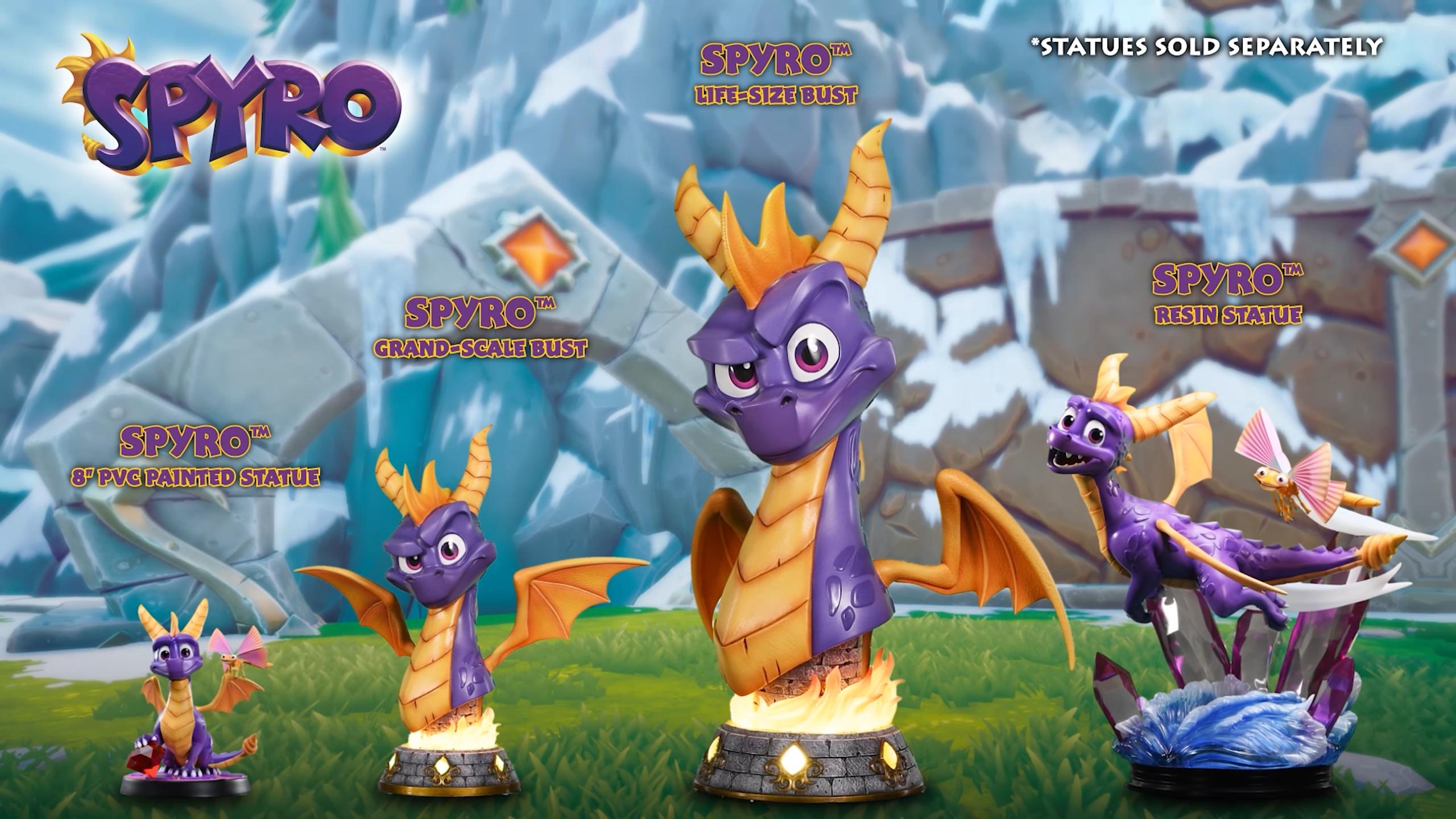First 4 Figures Spyro™ the Dragon series