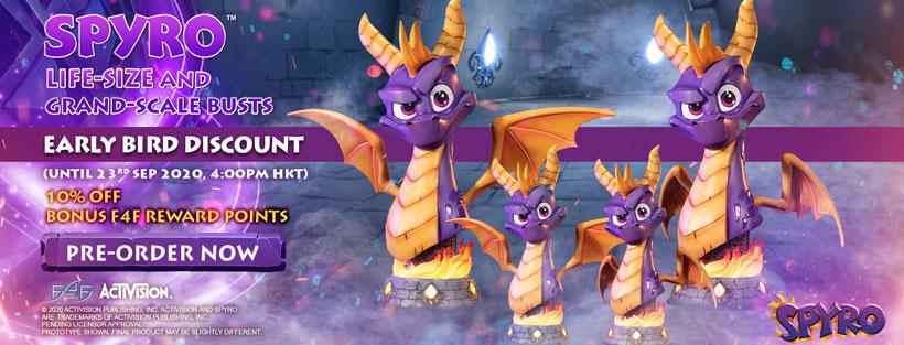 Spyro™ Bust Early Bird Promotion