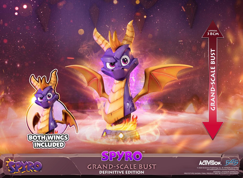 Spyro™ Grand-Scale Bust (Definitive Edition)