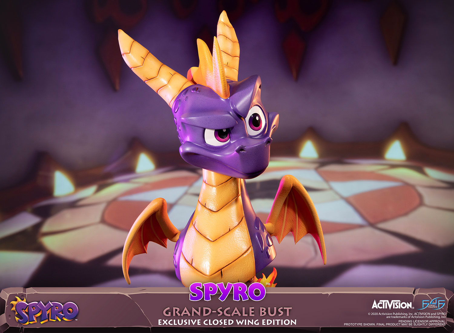 Spyro™ Grand-Scale Bust (Exclusive Closed Wing Edition)