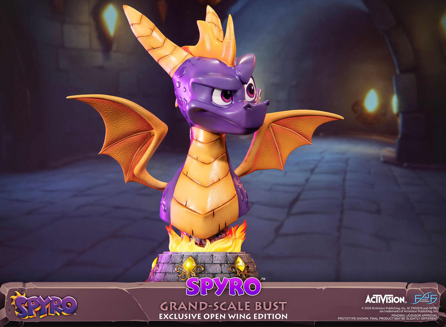Spyro™ Grand-Scale Bust (Exclusive Open Wing Edition)