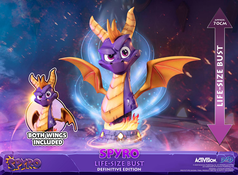 Spyro™ Life-Size Bust (Definitive Edition)