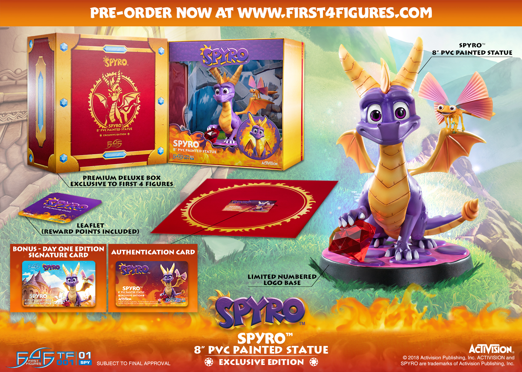 Spyro™ 8″ PVC (Exclusive)